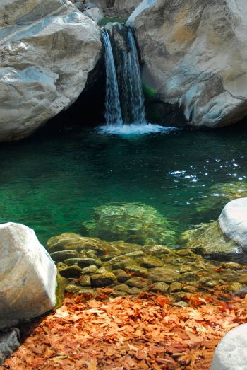 Taquitz Falls, Little Falls, Indian Canyons, Palm Springs, CA