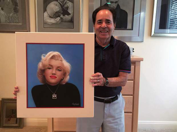 allan berman with forever marilyn